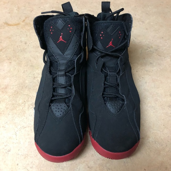 732c3d464ae Jordan Shoes | Air True Flight Black Red | Poshmark